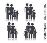 set social family member... | Shutterstock .eps vector #1326193487