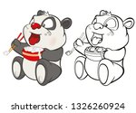 vector illustration of a cute...   Shutterstock .eps vector #1326260924