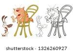 vector illustration of a cute...   Shutterstock .eps vector #1326260927