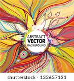vector abstract background | Shutterstock .eps vector #132627131
