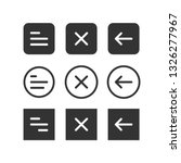 ui set of navigation buttons.... | Shutterstock .eps vector #1326277967