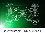 abstract background technology... | Shutterstock .eps vector #1326287651