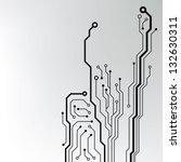 Circuit Board Pattern. Abstrac...