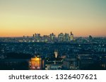 paris  france   october 6  ... | Shutterstock . vector #1326407621