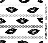 seamless pattern with black... | Shutterstock .eps vector #1326408074
