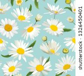 floral seamless pattern with... | Shutterstock .eps vector #1326450401