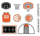 basketball backboard,basketball ball,basketball basket,basketball court,basketball hoop,basketball icons,basketball jersey,basketball net,basketball vector,icon set,vector elements
