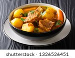 traditional african slow lamb... | Shutterstock . vector #1326526451