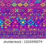 peruvian american indian... | Shutterstock .eps vector #1326540074