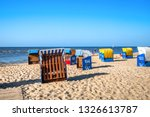 beach in cuxhaven  germany  | Shutterstock . vector #1326613787