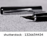 set of pens for writing on a... | Shutterstock . vector #1326654434