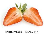 healthy red strawberry fruit... | Shutterstock . vector #13267414