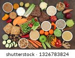 health food for vegans with... | Shutterstock . vector #1326783824