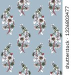 floral pattern cute floral... | Shutterstock .eps vector #1326803477
