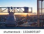 cityscape of madrid  spain | Shutterstock . vector #1326805187
