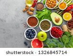 healthy food background ... | Shutterstock . vector #1326845714