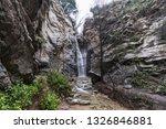 millard falls canyon in the san ... | Shutterstock . vector #1326846881