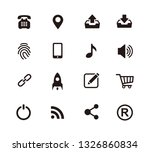 web  website  ui icon set