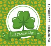 happy st patricks day | Shutterstock .eps vector #1326886241