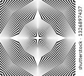 abstract halftone lines...   Shutterstock .eps vector #1326897437
