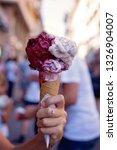 ice cream. dessert. | Shutterstock . vector #1326904007
