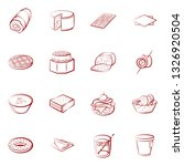 food images. background for... | Shutterstock .eps vector #1326920504