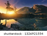 hintersee   amazing mountains... | Shutterstock . vector #1326921554