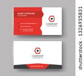 creative business cards...   Shutterstock .eps vector #1326935831
