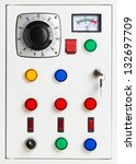 Control Panel Of An Electrical...