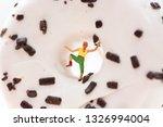 miniature people  woman... | Shutterstock . vector #1326994004