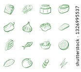 food images. background for... | Shutterstock .eps vector #1326995537