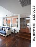 panoramic view of nice new... | Shutterstock . vector #13270288