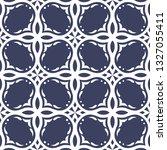 ornate tile seamless vector... | Shutterstock .eps vector #1327055411