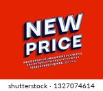 vector modern style label new... | Shutterstock .eps vector #1327074614