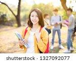 portrait of  asian college...   Shutterstock . vector #1327092077