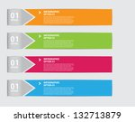 numbered medical infographic... | Shutterstock .eps vector #132713879