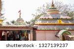 ramchandi mandir puri kali...   Shutterstock . vector #1327139237