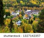 Small photo of Dorotea village in autumn