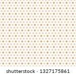 seamless polka dot pattern ... | Shutterstock .eps vector #1327175861
