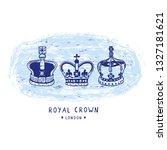Sketchy London Royal Crown...