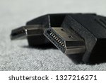 computer connectors closeup.... | Shutterstock . vector #1327216271