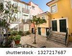lisbon  alfama portugal... | Shutterstock . vector #1327217687