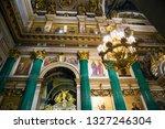 saint petersburg  russia ... | Shutterstock . vector #1327246304