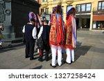 zagreb  croatia  10 february... | Shutterstock . vector #1327258424
