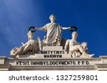 augusta arch in lisbon. portugal | Shutterstock . vector #1327259801