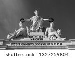 augusta arch in lisbon. portugal | Shutterstock . vector #1327259804