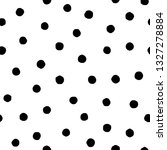 polka dot seamless pattern in... | Shutterstock .eps vector #1327278884