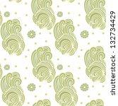 seamless japanese pattern   Shutterstock .eps vector #132734429
