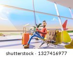 3d illustration. cartoon... | Shutterstock . vector #1327416977