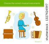 children education game. choose ... | Shutterstock .eps vector #1327424597